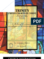 Trinity United Church of Christ Bulletin Nov 4 2007