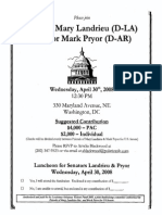 Luncheon for Mary Landrieu, Mark Pryor
