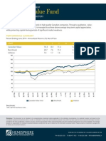 Canadian Value Fund - 2QTR 2014