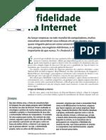 HSM-A Fidelidade Na Internet