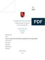 Informe de Proyecto Aula Quimica