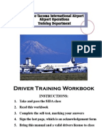 Driver Training Manual