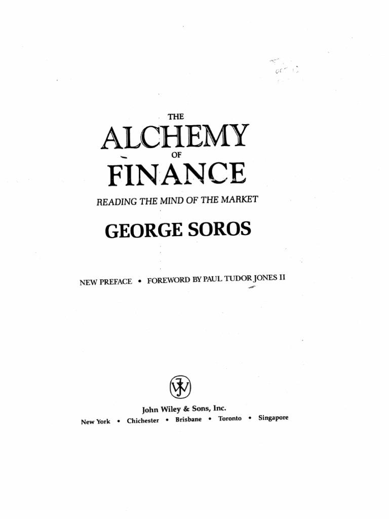 Soros, George - The Alchemy of Finance