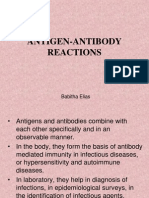 Ag -Ab Reactions