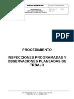 VMEP-SSMA-PG-04. Procedimiento de Inspecciones y Observaciones
