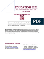 EDUC2201 Syllabus Fall 2014