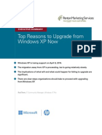Top Reasons to Upgrade from Windows XP Now