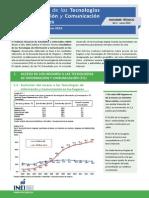 Tecnologia Informacion y Comunicaciones Ene Feb Mar 2014