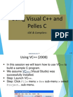 Use Visual c++ pellesc