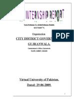 Internship Report on Alliedbank of Pakistan