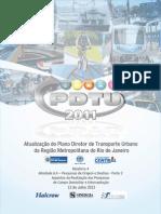 PDTU 2013 - Resultados das Pesquisas Domiciliares e de Interceptação