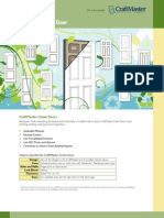 CraftMaster Green Door Brochure