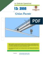 Neo13-2005 Grúas Puente