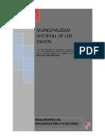 PLAN 10064 Reglamento de Organización y Funciones 2012