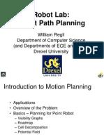Robot Lab Path Planning