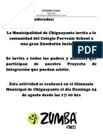 Informacion Zumba