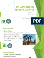 Surfactantes en Recobro Quimico