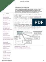 Primeiros Passos Com o OpenERP