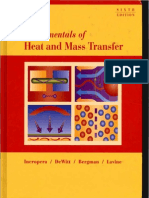 Fundamentals of Heat and Mass Transfer- Textbook - Incropera