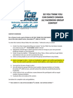 So You Think You Can Dance - Jlc Contest