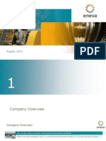 ENEVA Corporate Presentation ? August 2014