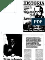 Viajando Con Sarmiento Por Javier Fernádez, Todo Es Historia Nº 362, Septiembre de 1997