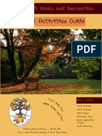 Fall 2014 Activities Guide