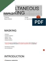 Simultaneous masking.pptx