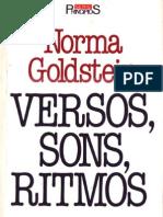 GOLDSTEIN Norma - Versos Sons Ritmos
