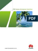 HUAWEI S3700 Switch Datasheet