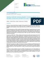 WEDF 2014 Programme