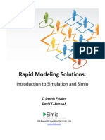 Introduction to Simulation and Simio