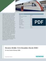Desiro Double - Deck EMU SBB