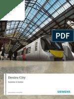 Desiro City Booklet