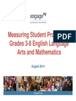 2014 Common Core English and math test results