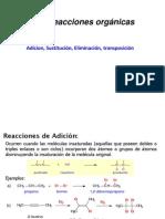 Rx de Química Orgánica