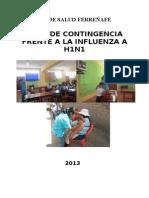 Plan Contingencia Influenza 2013 Promsa Epi Niño