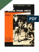 Récréation Et Education Physique Sportive USEP Auguste Listello Editions Bourrelier