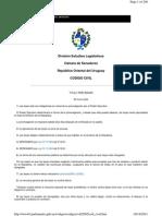 Codigo Civil Uruguay