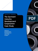 The Garment Industry Development Corporation Case Study