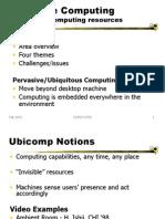 HCI Gattech32 Ubiquitous Computing
