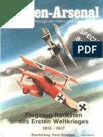 Waffen Arsenal - Special Band 03 - Flugzeug-Raritäten des Ersten Weltkrieges