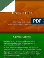 Drugs in CPR - M.H.farjoo