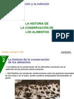 Historia Conservacion Alimentos
