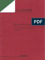 50 Esercizi Di Tecnica - Fisarmonica - ANZAGHI