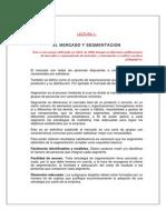 El Mercado y Segmentacic3b3n