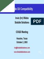 Crude Oil Compatibility