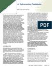 Molecular Details of Hydrocracking Feedstocks