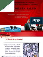 Economia de La Salud 2013