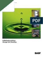 N-Methylpyrrolidone (NMP) Handling and Storage